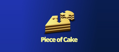 logo design Piece of Cake