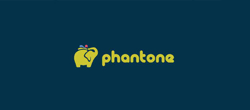 design Phantone logo