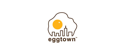 Eggtown logo design examples ideas