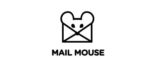 MAIL MOUSE logo design examples