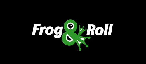 Frog & Roll logo design examples