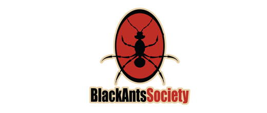 Black red ant logo design ideas