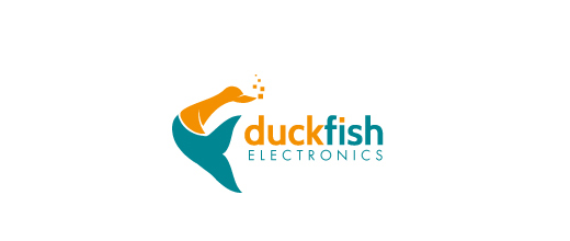 Fish company ducks logo design examples