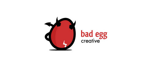 bad egg logo design examples ideas