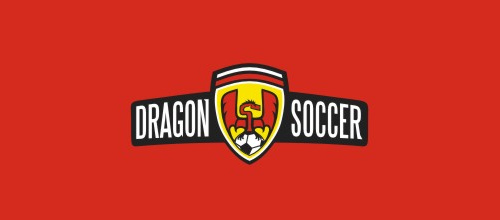 dragon logo design examples Dragon Soccer
