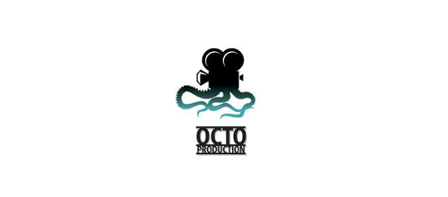 Octo Production logo design examples