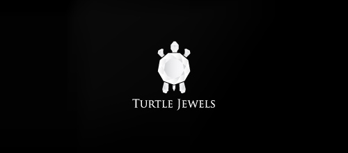 Turtle Jewels logo design ideas