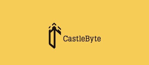 Byte castle logo design examples ideas