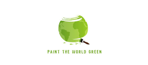 Paint the world logo design examples