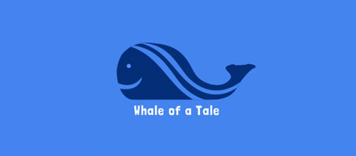 Whale of a Tale logo design examples