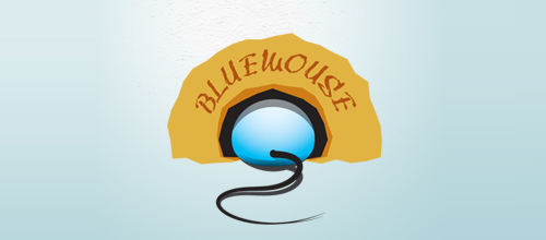 bluemouse logo design examples