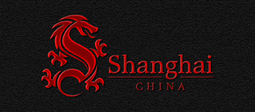 dragon logo design examples Shanghai Dragon