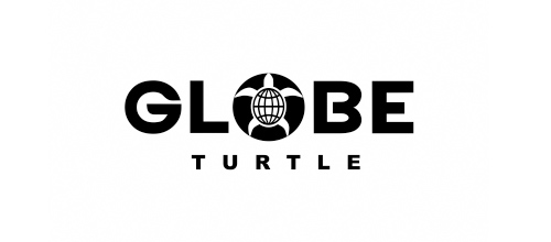 Globe Turtle logo design ideas