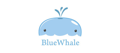 Blue Whale logo design examples