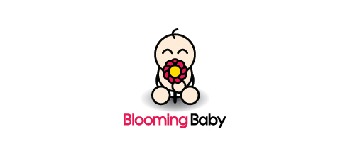 Blooming Baby logo design