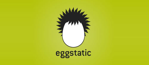 Eggstatic logo design examples ideas