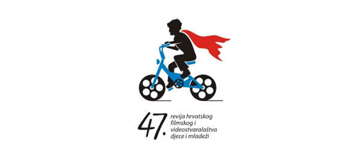 bike logo design 47th Festival logo