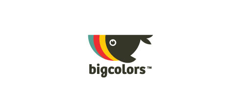 Bigcolors logo design examples