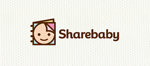 Sharebaby logo design