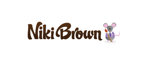 Niki Brown logo design examples