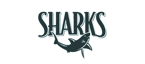 Sharks logo design examples