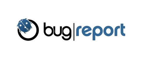 bug report :: logo design