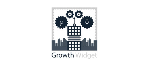 Growth Widget logo design examples