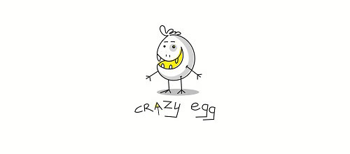 crazy egg logo design examples ideas
