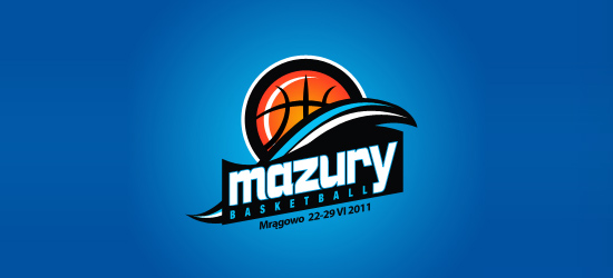 basketball logo design ideas Mazury Basketball Camp