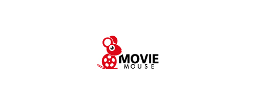 Movie Mouse logo design examples