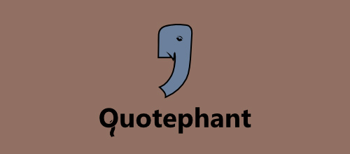 design Quotephant logo