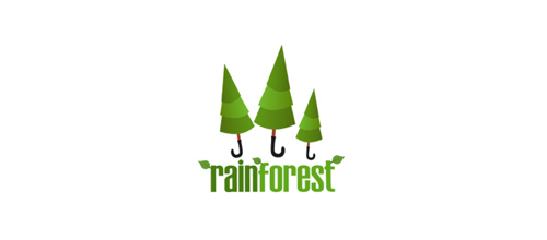 RainForest logo design