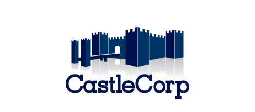 Corporation castle logo design examples ideas