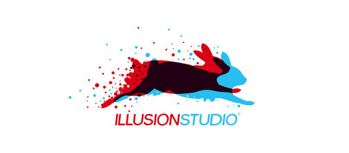illusion studio logo design examples