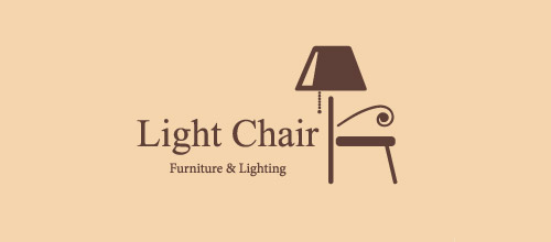 furniture logo designs examples light chair furniture logo