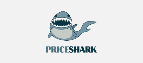 Price Shark logo design examples