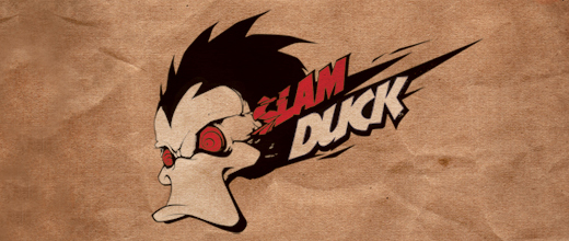 Slam ducks logo design examples