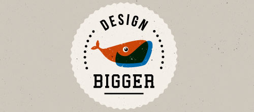 Design Bigger logo design examples