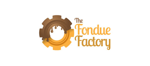The Fondue Factory logo design examples
