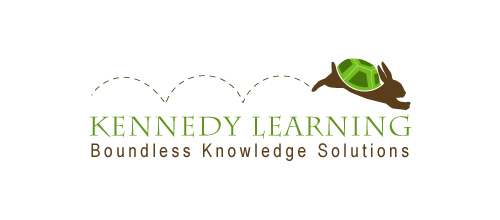 Kennedy Learning logo design examples