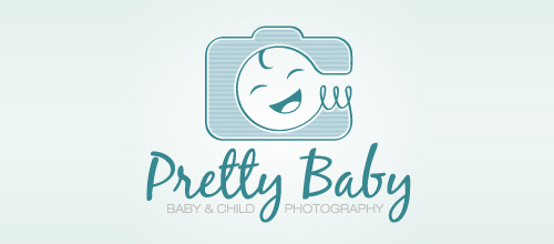 Pretty Baby - Photography logo design