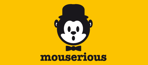 Mouserious logo design examples
