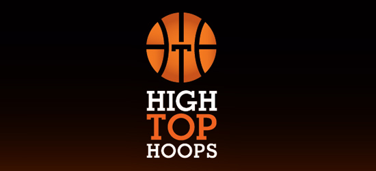 basketball logo design ideas High Top Hoops