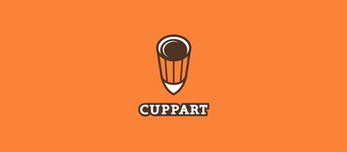 CUPPART logo design examples