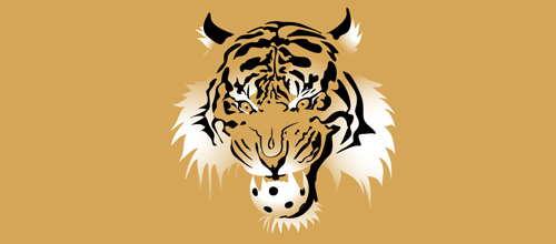 Hockey tiger logo design ideas