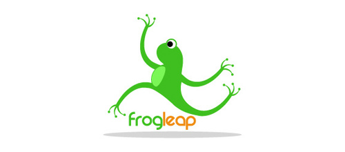 FROGLEAP logo design examples