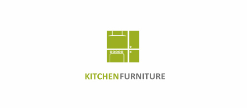 Kitchen Logo Design Ideas ~ Beautifully crafted furniture logo designs for inspiration