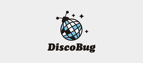 Disco-Bug logo design examples