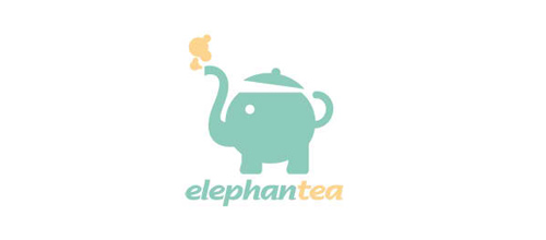 design ElephanTea logo