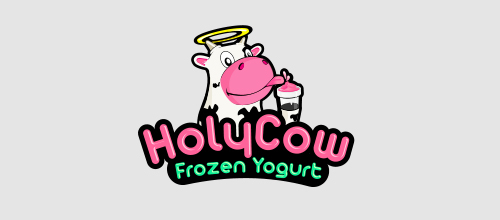 Holy Cow logo design examples